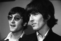 John Lennon and George Harrison