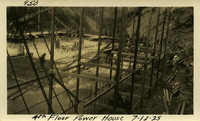 Lower Baker River dam construction 1925-07-12 4th Floor Power House