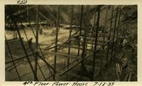 Lower Baker River dam construction 1925-07-12 4th Floor Power House