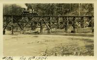 Lower Baker River dam construction 1924-11-15 Railroad bridge