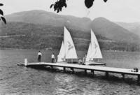 1971 Sailing at Lakewood