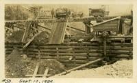 Lower Baker River dam construction 1924-09-10 Diversion dam