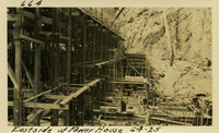 Lower Baker River dam construction 1925-06-04 East Side of Power House
