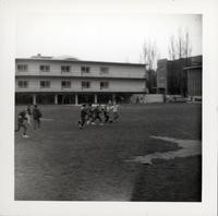 1965 Boys Playing Ball Game