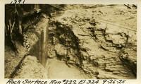 Lower Baker River dam construction 1925-09-26 Rock Surface Run #222 El.324