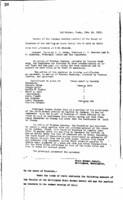 WWU Board minutes 1911 February