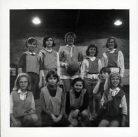 1965 Girls Basketball Team