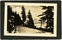 Chuckanut Drive with view of water