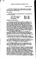 WWU Board minutes 1918 October