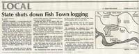 State shuts down Fish Town logging