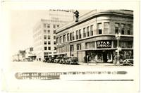 Exterior of Star Drug store on Elk (State) Street, Bellingham, WA