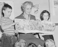 1948 Katherine Casanova With Students