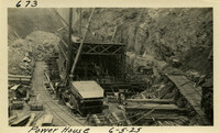 Lower Baker River dam construction 1925-06-05 Power House