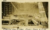 Lower Baker River dam construction 1925-06-11 Placing Box Girder Power House (cracked)
