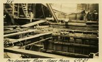 Lower Baker River dam construction 1925-06-12 Main Generator Room Power House