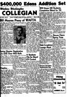 Western Washington Collegian - 1954 May 7