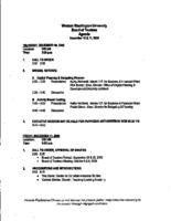 WWU Board minutes December 2009