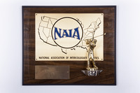Golf (Men's) Plaque: NAIA District 1 Champions, 1983