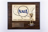 Golf (Men's) Plaque: NAIA District 1 Champions, 1983