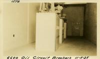 Lower Baker River dam construction 1925-11-11 6600 Oil Circuit Breakers