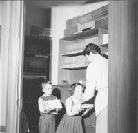 1961 Students Helping with Textbooks