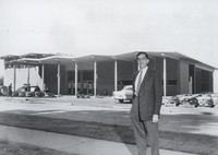 1959 Facade (East Side) with Barney Goltz