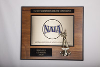 Golf (Men's) Plaque: Pacific Northwest Athletic Conference, NAIA Champions, 1996/1997