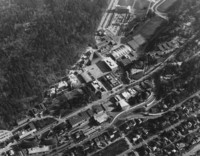 1973 Aerial View: North Campus