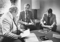 1983 G. Robert Ross Meeting With Legislators