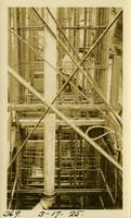 Lower Baker River dam construction 1925-03-17 Sluiceway pipe continuation?