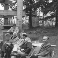 1982 Sehome Hill Arboretum Tower Dedication