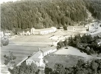 1950 Aerial View Of Campus School