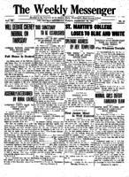 Weekly Messenger - 1921 February 18