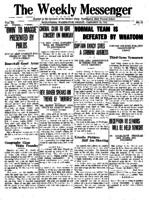 Weekly Messenger - 1921 February 25