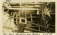 Lower Baker River dam construction 1925-06-15 Power House Foundation over Penstock