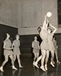 1947 Basketball Girls