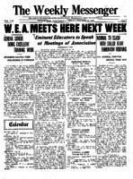 Weekly Messenger - 1921 October 21