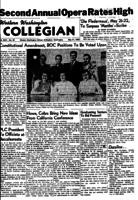 Western Washington Collegian - 1954 May 21