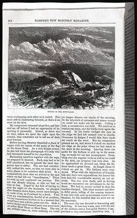 Mountaineering on the Pacific (copy of page 18 of article from Harper's New Monthly Magazine)