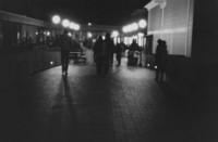 1973 Viking Union Walkway at Night