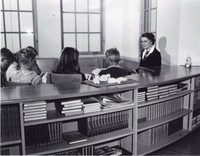 1947 Pearl Merriman With Fourth Grade Students