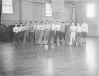 1930 Boys In Gymnasium