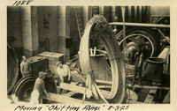 Lower Baker River dam construction 1925-08-03 Moving Shifting Rings