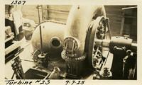 Lower Baker River dam construction 1925-09-07 Turbine #2S