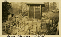 Lower Baker River dam construction 1925-10-25 Surge Chamber