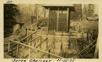 Lower Baker River dam construction 1925-10-25 Surge Chamber