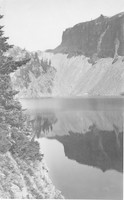 Unidentified mountain lake probably in the North Cascades