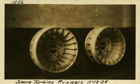 Lower Baker River dam construction 1925-11-12 Spare Turbine Runners