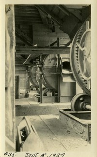 Lower Baker River dam construction 1924-09-05 Machinery
