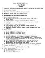WWU Board minutes 1970 April